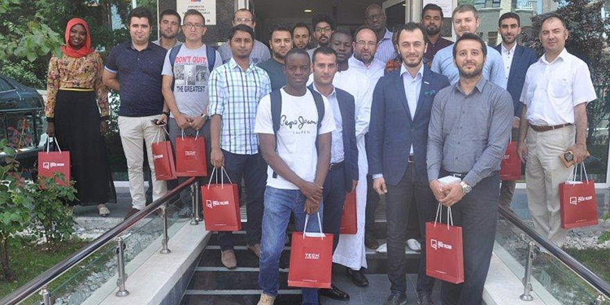 Yabancı uyruklu öğrenciler Konya'yı gezdi