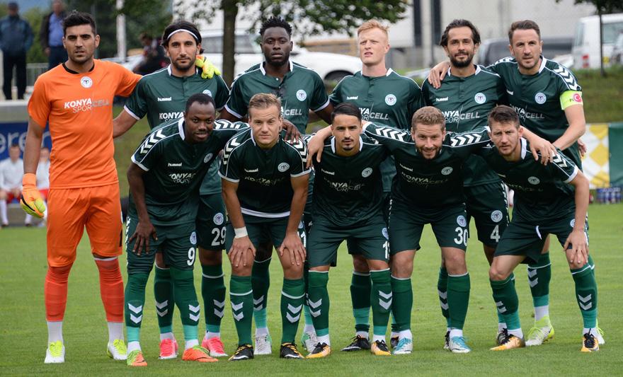 Atiker Konyaspor Leipzig'e 1-0 yenildi