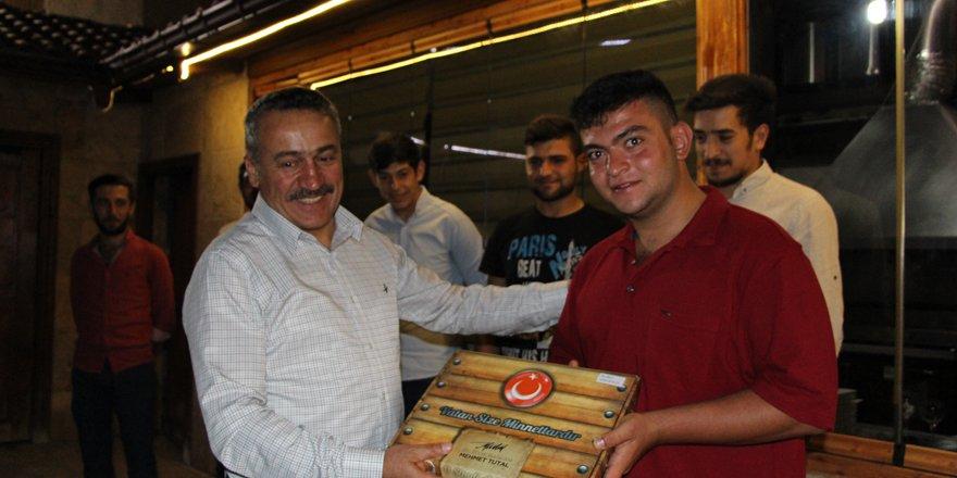 Başkan Tutal, asker adaylarıyla buluştu
