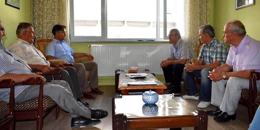 İlçe Kaymakamı Erdoğan ADD'yi ziyaret etti