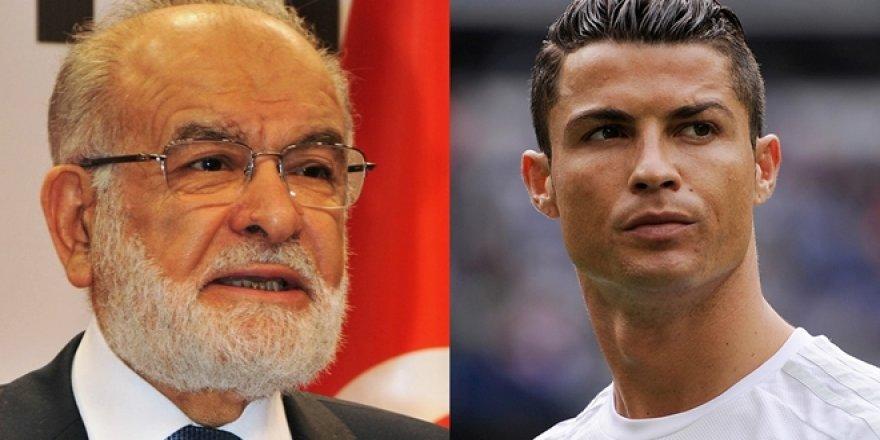 Saadet'den Ronaldo'ya 'Kudüs Mitingi' için davet mektubu!