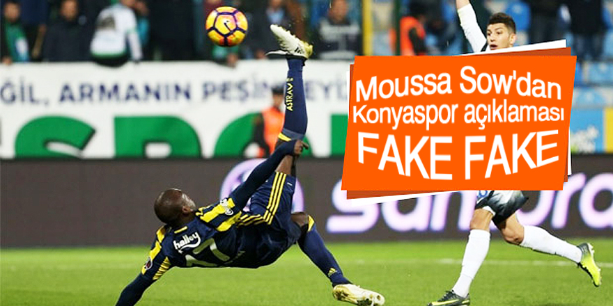 Sow'dan Konyaspor iddiaları için açıklama