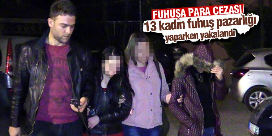 Konya'da fuhuş operasyonu: 13 gözaltı