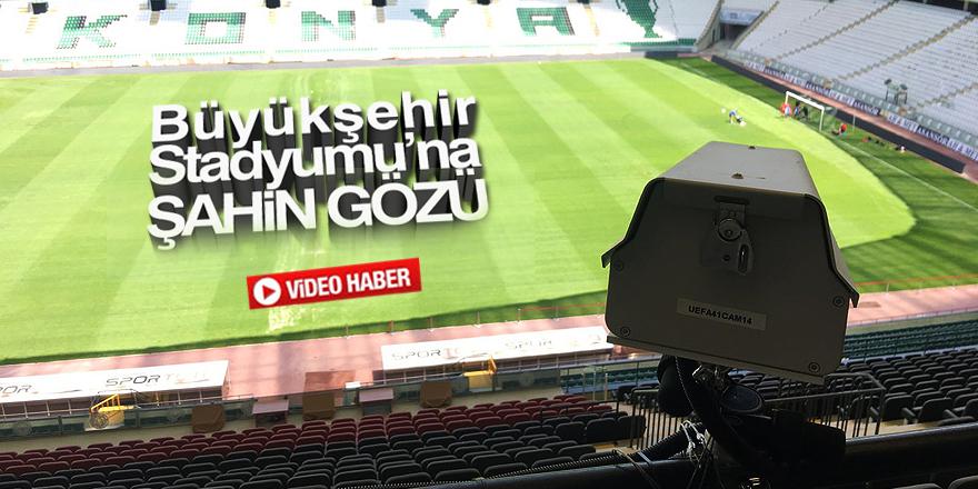 Stadyuma Hawk-Eye teknolojisi kuruldu