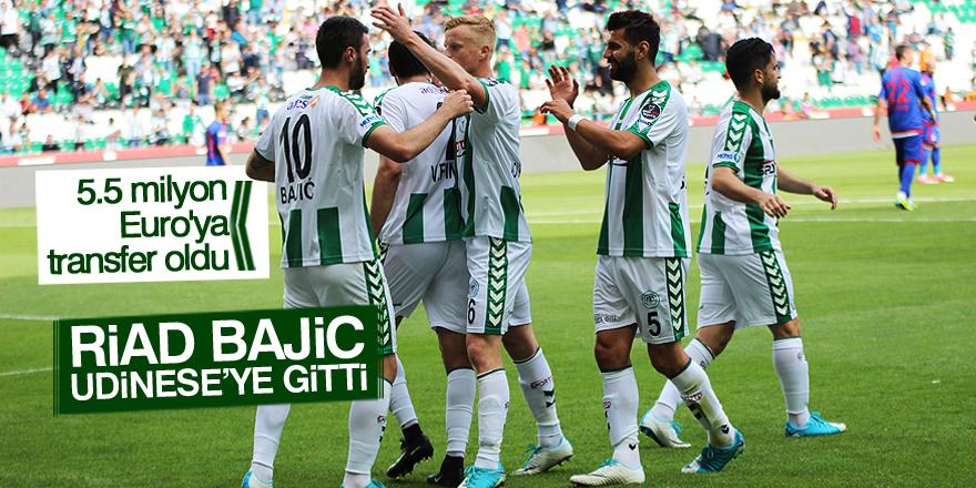 Atiker Konyaspor'un golcüsü Udinese'ye gitti