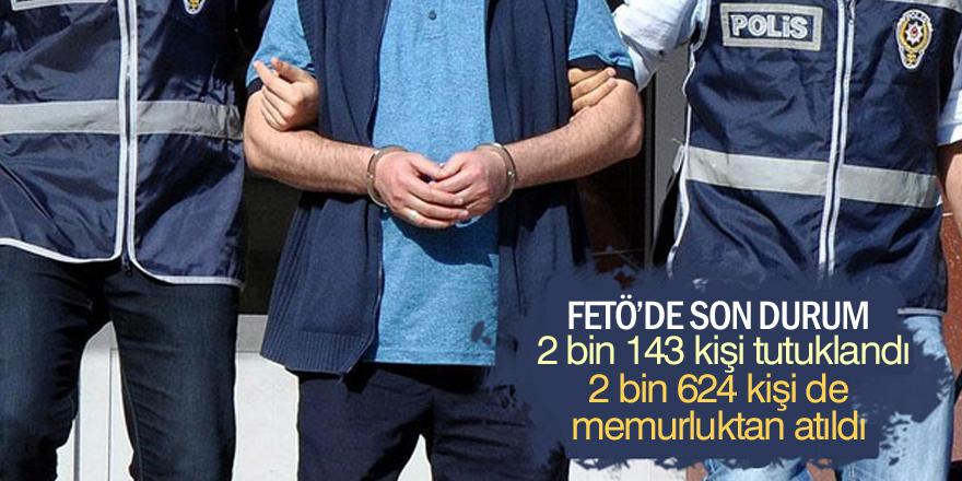 Konya'da FETÖ/PDY soruşturmalarında 2 bin 143 kişi tutuklandı