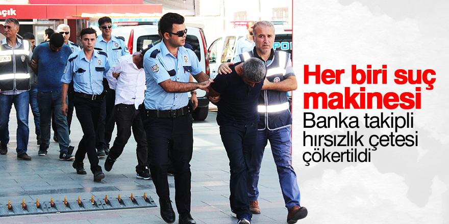 Konya'da hırsızlık çetesi çökertildi: 5 gözaltı