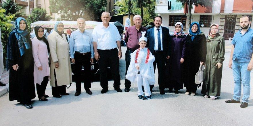 Güven ve Ergun aileleri sünnet heyecanı yaşadı
