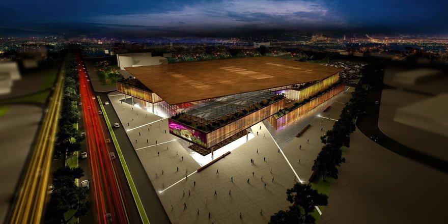 Kongre merkezi açılışa hazırlanıyor