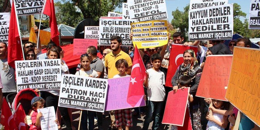 """""""Hileli iflas ile haklarımız gasp edildi"""""""