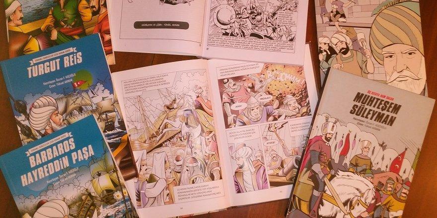 Sultanları çizgi romana uyarladı