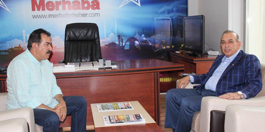 KONESOB Başkanı'ndan Merhaba'ya 48. yıl ziyareti