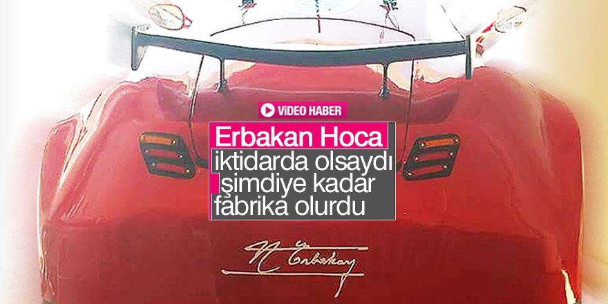 Erbakan imzalı elektrikli otomobil Konya'yı temsil etti