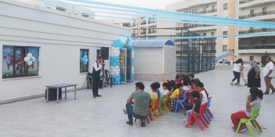 Konya'nın ilk yüzme havuzlu kreşi açıldı