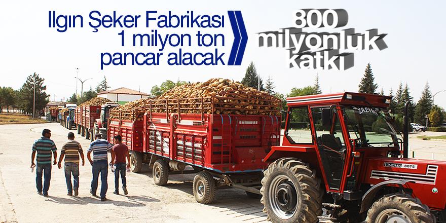 800 milyonluk katkı