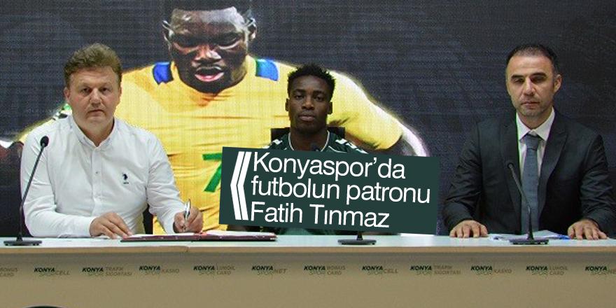 Konyaspor'da futbol şube sorumluluğuna Fatih Tınmaz getirildi