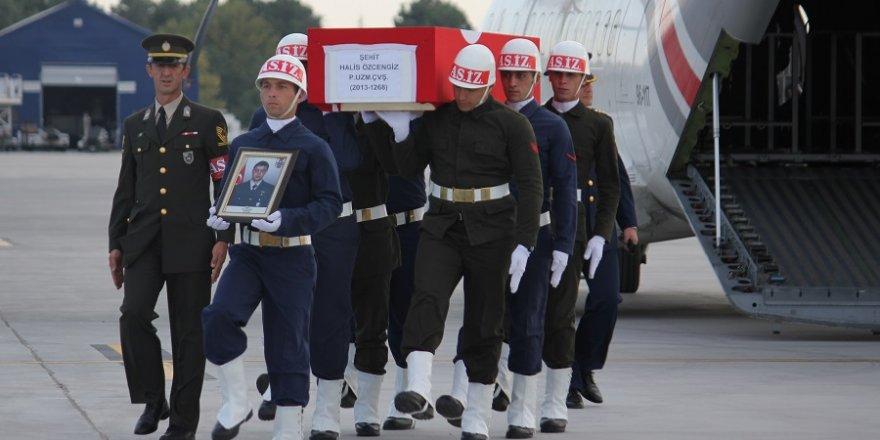 Şehitlerimiz Konya'ya getirildi
