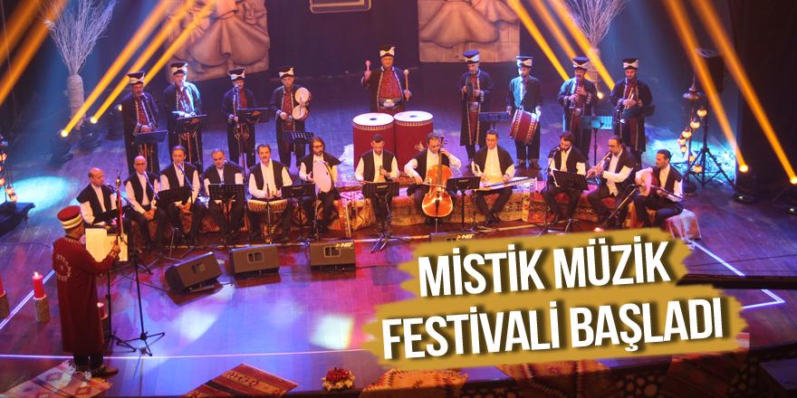 Mistik Müzik Festivali başladı