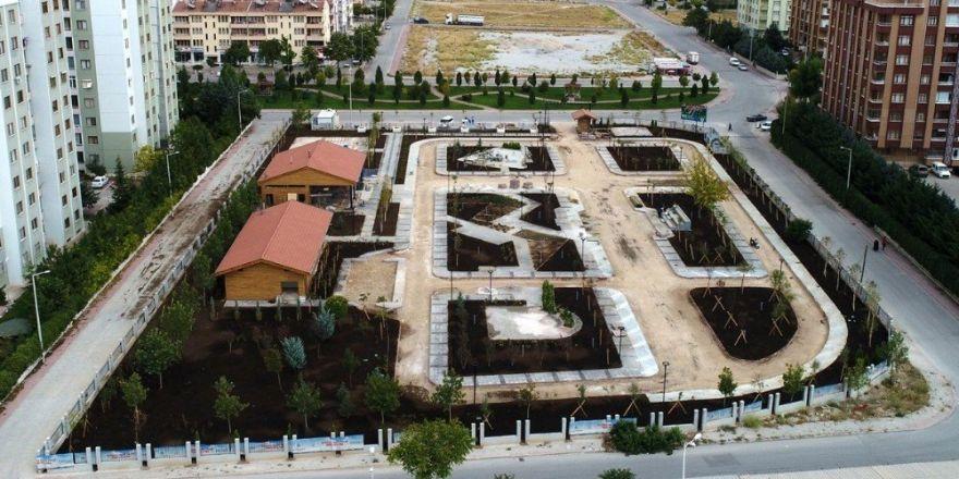 Selçuklu'da trafik eğitim parkı yapılıyor
