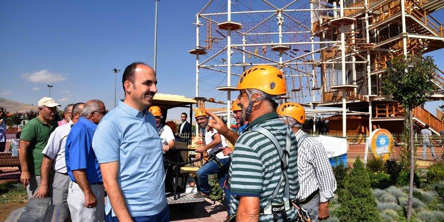 Muhtarlar Selçuklu'daki yatırımları gezdi