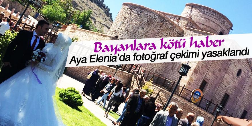 Sille Aya Elenia'da fotoğraf çekimi yasaklandı