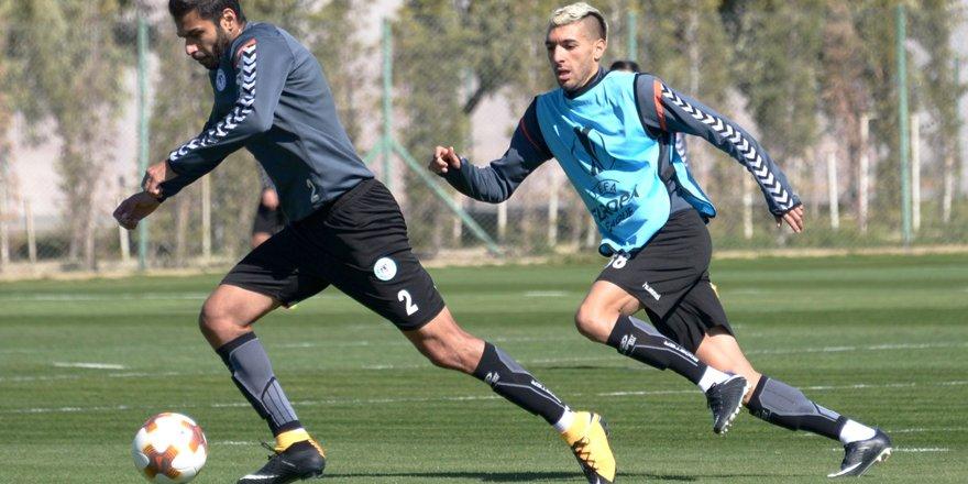 Atiker Konyaspor'da Salzburg maçı hazırlıkları