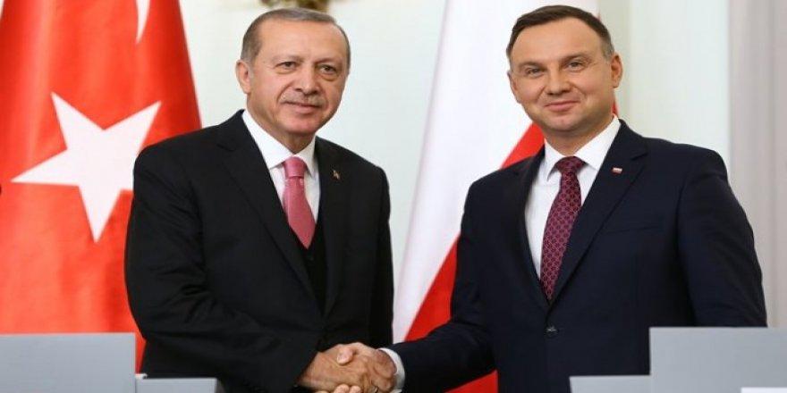 Erdoğan: Polonya ile 5 anlaşma imzaladık