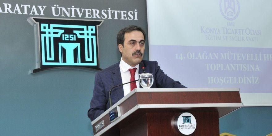 KTO Eğitim ve Sağlık Vakfı Genel Kurulu gerçekleştirildi