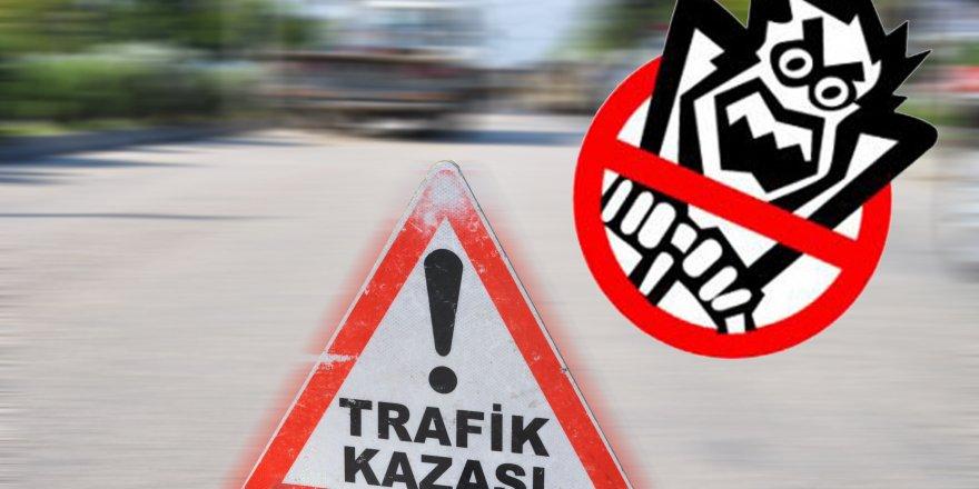 Hüyük'te trafik kazası: 2 yaralı