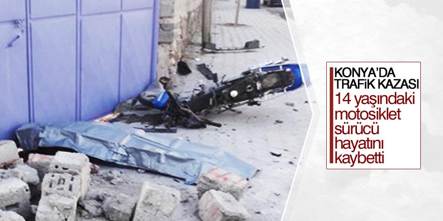 Karapınar'da trafik kazası: 1 ölü