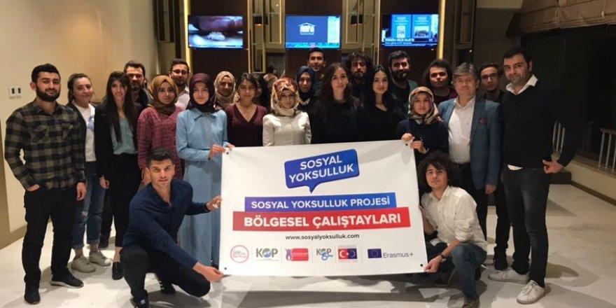 Sosyal yoksulluk çalıştayları Konya'dan başladı