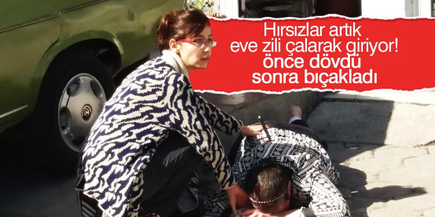 Akşehir'de bıçakla yaralama
