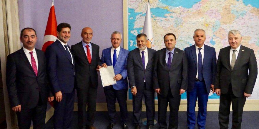 Ak Parti Konya İl Başkanlığı'na Hasan Angı atandı