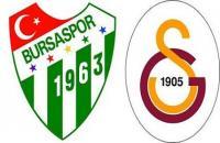 Bursaspor Galatasaray maçı saat kaçta?
