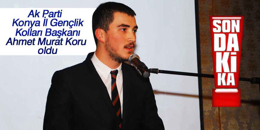 Ak Parti Konya İl Gençlik Kolları Başkanı belli oldu