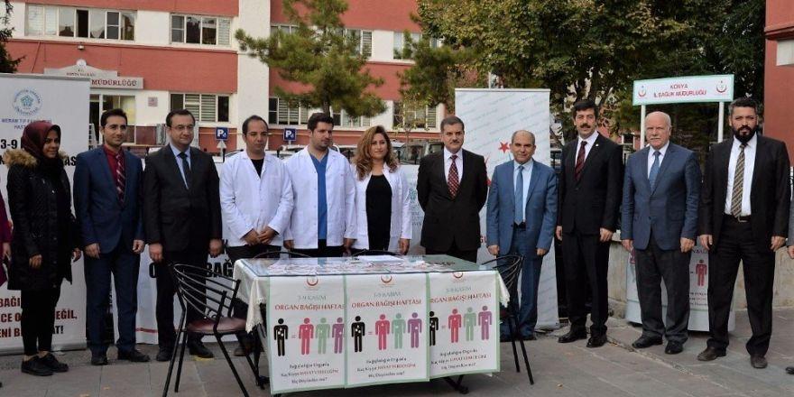NEÜ ve İl Sağlık Müdürlüğü organ bağışı için seferber oldu