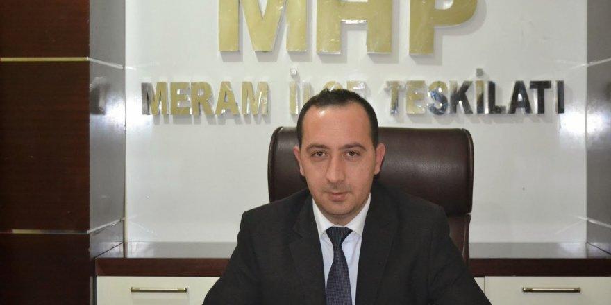 MHP Meram'dan ihraç açıklaması