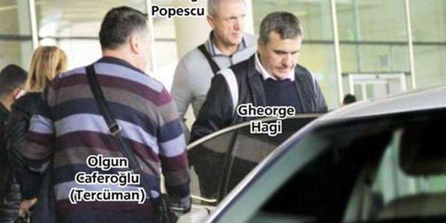 Hagi ve Popescu Karşıyaka için İzmir'e geldi
