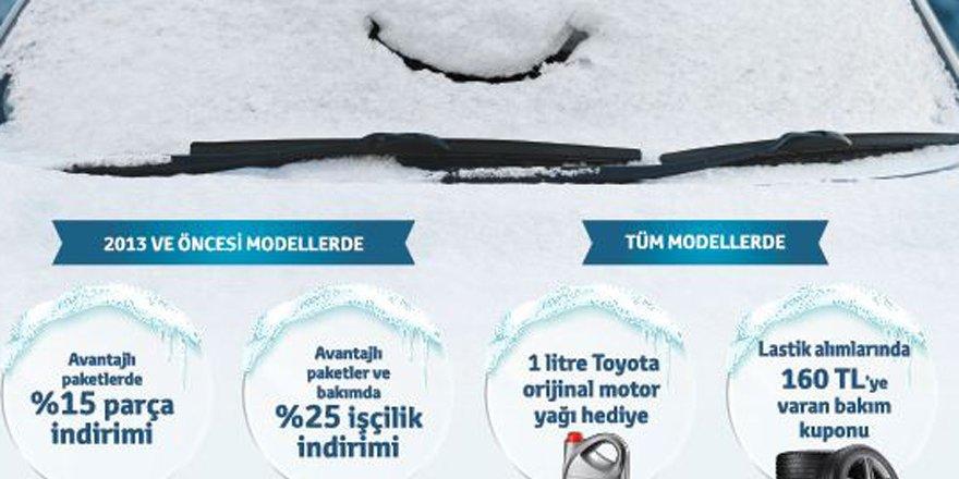 Toyota'dan kışa meydan okuyacak kampanya