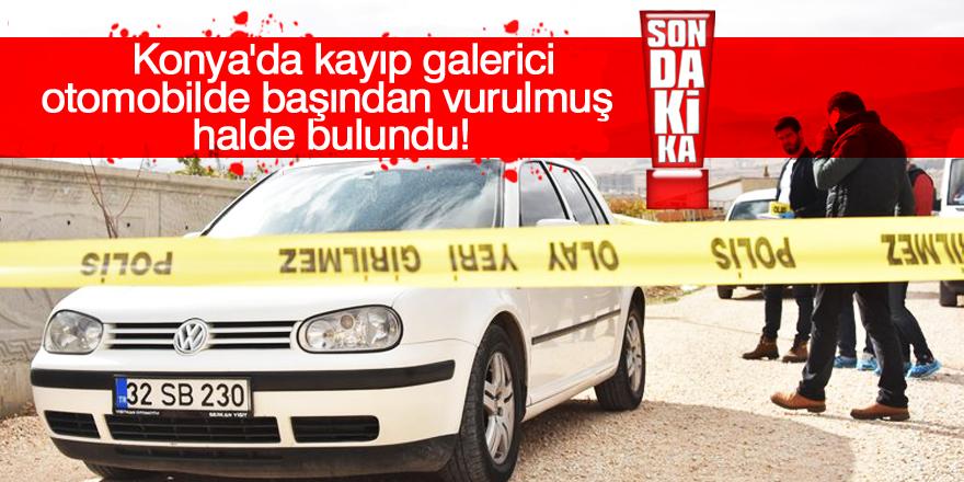 Konya'da cinayet!