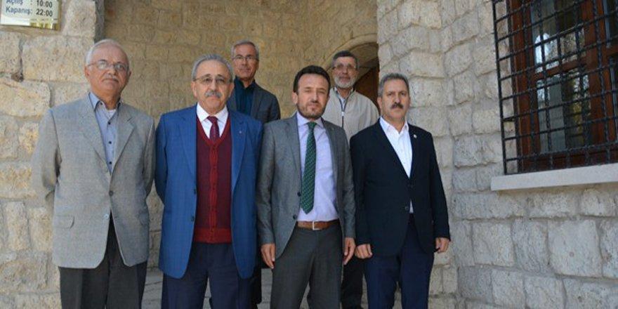 Başkan Yılmaz Çumra'yı ziyaret etti