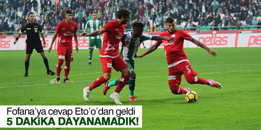 Atiker Konyaspor-Antalyaspor maç sonucu: 1-1