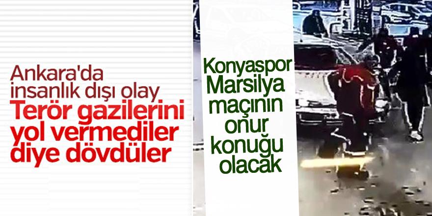 Trafikte saldırıya uğrayan Gazi, Konyaspor-Marsilya maçının onur konuğu olacak