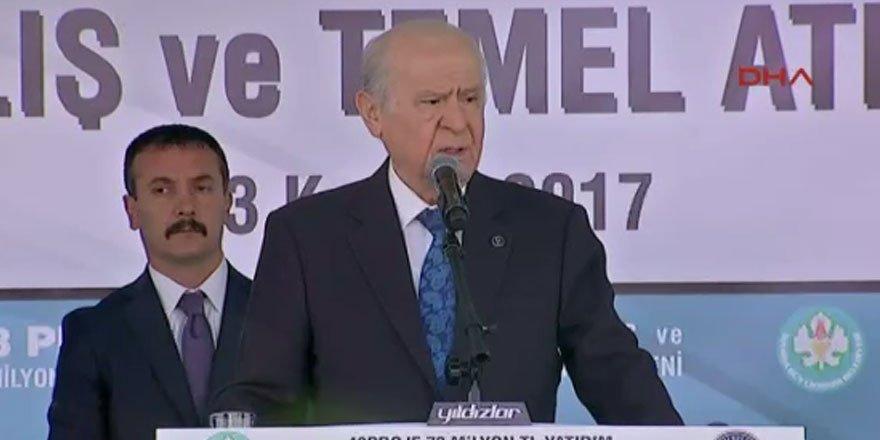 Bahçeli'den seçim barajı açıklaması