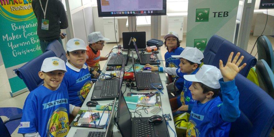 Öğrencilere maker eğitimi verildi