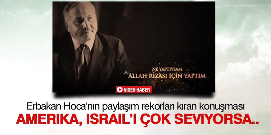 Erbakan Hoca'nın paylaşım rekorları kıran konuşması