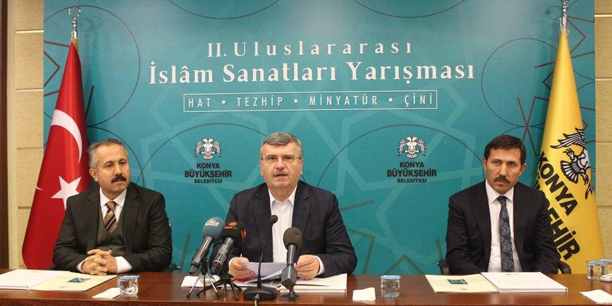 2. İslam Sanatları Yarışması başladı