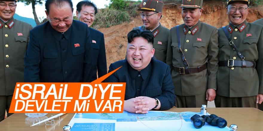 Kuzey Kore lideri: İsrail diye bir devlet mi var!