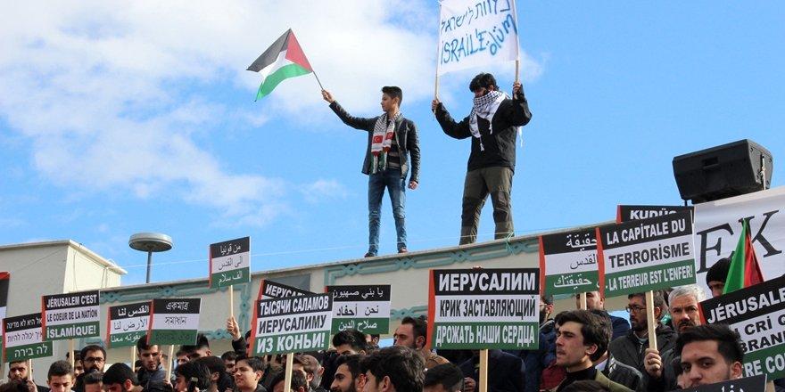 Konya'dan Kudüs açıklaması: Birliğimiz İsrail'i korkutuyor