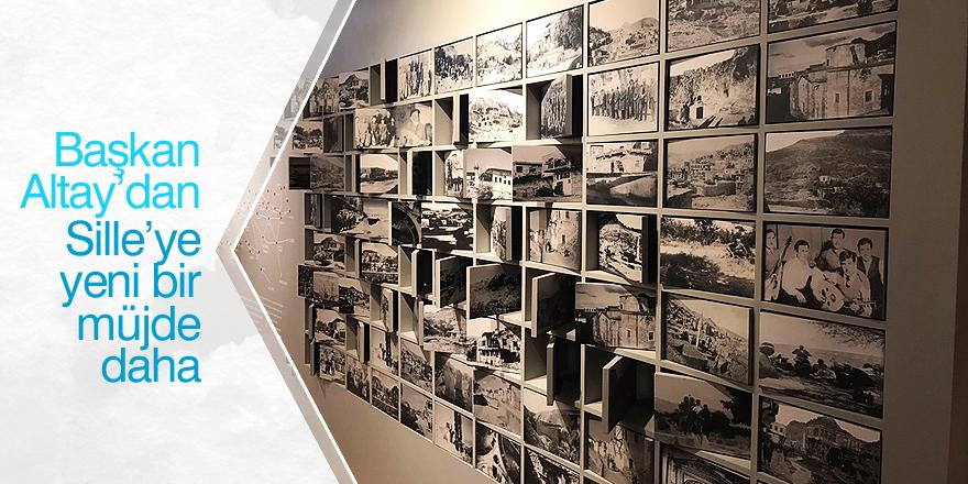 Altay'dan Sille'ye müze müjdesi